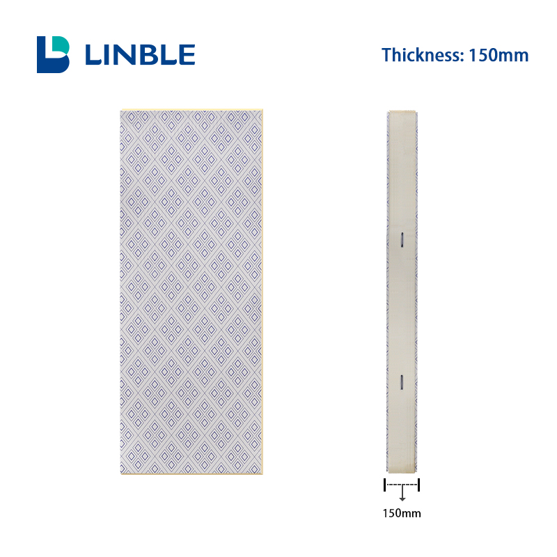 150mm Cold Room Pu Sandwich Panel